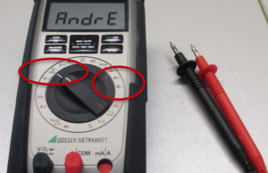 Multimeter richtig bedienen