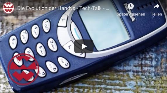 Evolution der Handys