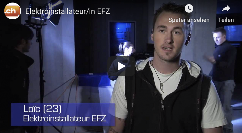 Eletroinstallateur EFZ Lehre